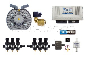 LPG TECH 326 OBD / KME SILVER TUR 6 / DRAGON