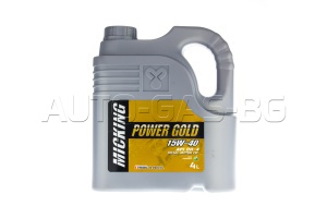 MICKING CF-4 POWER GOLD 15W40 4L.