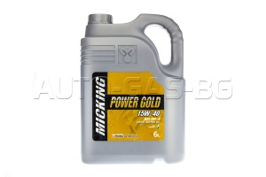 MICKING CF-4 POWER GOLD 15W40 6L.